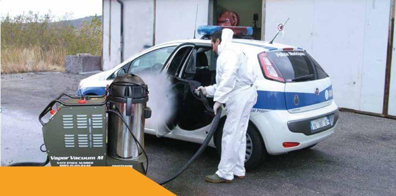 Dekontaminace COVID-19 - vojenská technika pro naše účely, provádíme na přání ve všech vozidlech